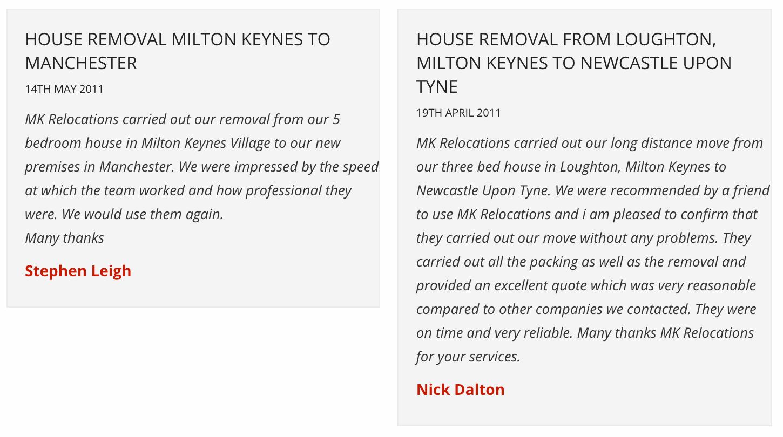 removals milton keynes
